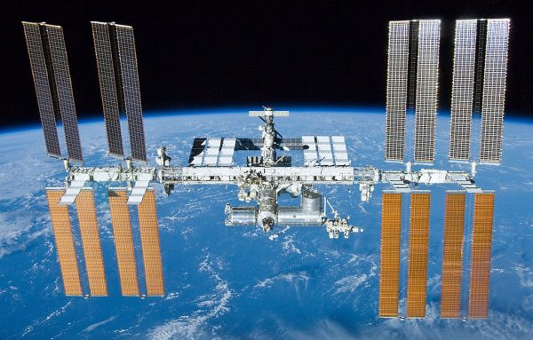 The dragon docked with the International Space Station on July 2nd with 6,000 pounds of cargo. (Image: wikimedia / CC0 1.0)