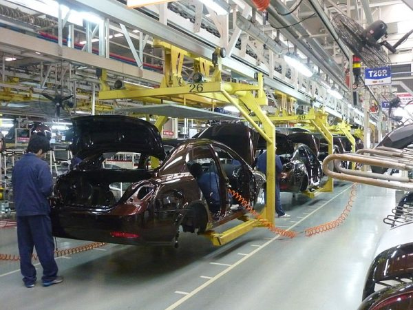 Almost all the parts required to manufacture a car are sourced directly from inside Thailand itself. (Image: Siyuwj via wikimedia CC BY-SA 3.0)