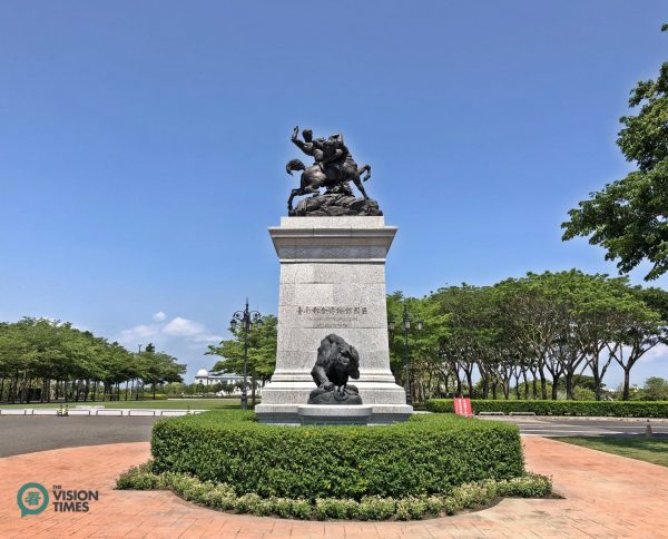 Chimei Museum is located in Tainan City's Metropolitan Park. (Image: Julia Fu / Vision Times)