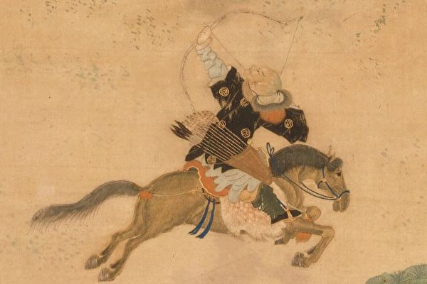 It was recounted that Xiong Zi, King Wen of Chu, got a good hound dog, a bow, and arrows.