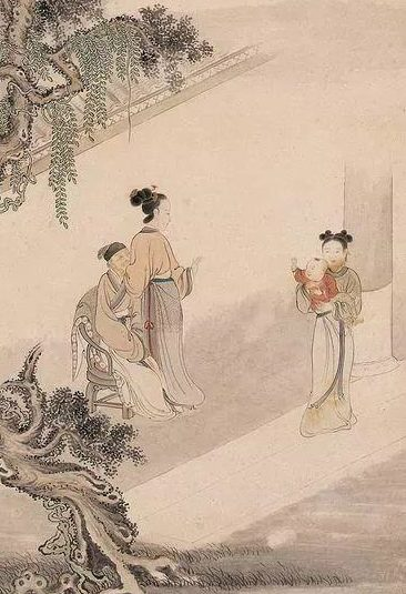Zhang Changpu follows the ritual and righteousness, pays attention to self-cultivation and morality, and even if he is against the servant of the humble, he is also very creditworthy. The picture shows t