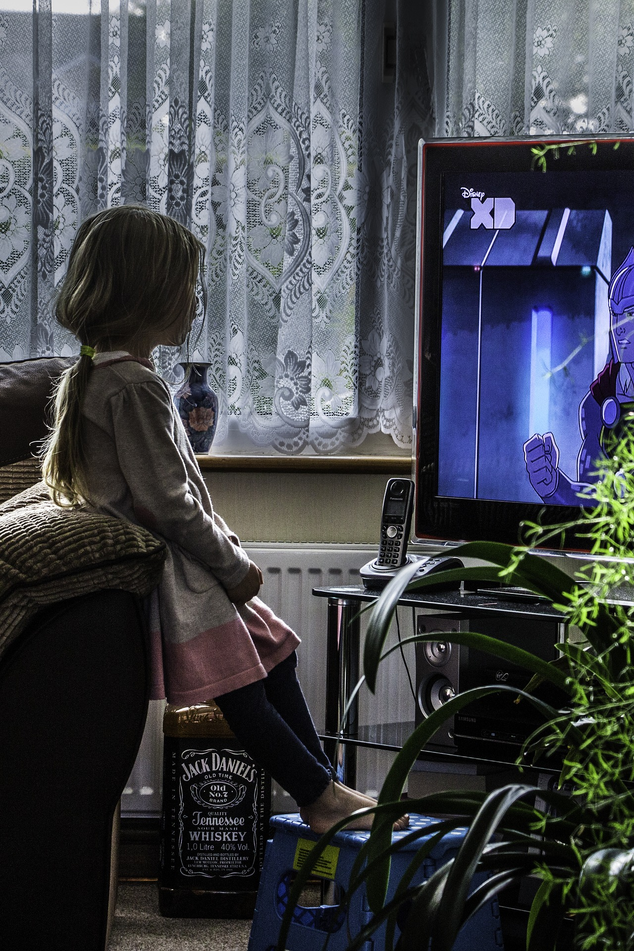 A research team from Japan also found that excessive TV watching had the ability to alter the structure of the brain. (Image via pixabay / CC0 1.0)