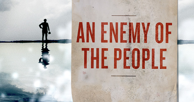 The 19th-century play by Henrik Ibsen called An Enemy of the People, has been canceled from screening in China after the initial shows evoked an outburst of anti-government comments from the audience. (Image: Schaubühne / CC0 1.0)