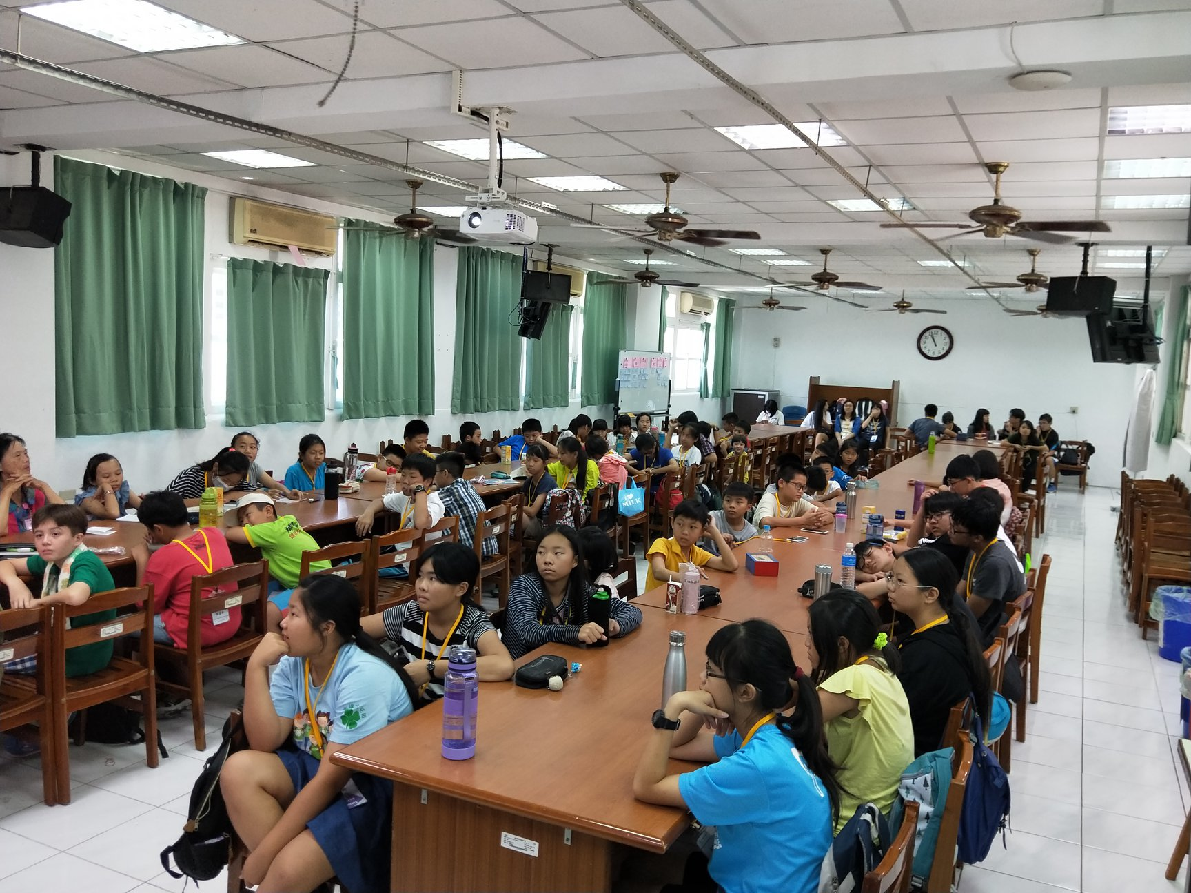 The International Summer English Camp was held in central Taiwan's Changhua County on July 9-13, 2018. (mage: Changhua Parent Union Advisory Council)