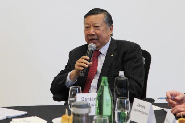 Mr Benjamin Chow (Image: Vision China Times Australia)