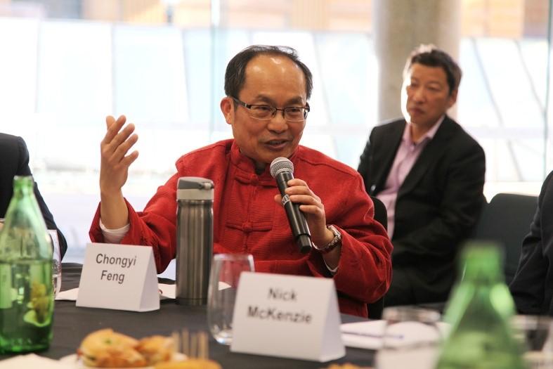 Professor Chongyi Feng. (Image: Vision China Times Australia)