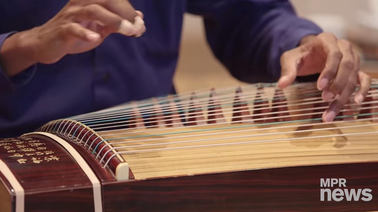 Jarrelle Barton plays the guzheng 1-44 screenshot