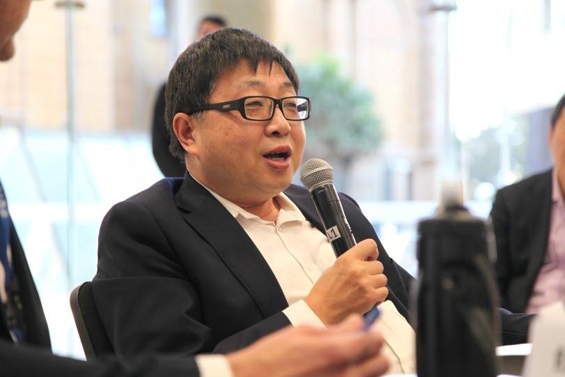 Mr. John Hugh. (Image: Vision China Times Australia)