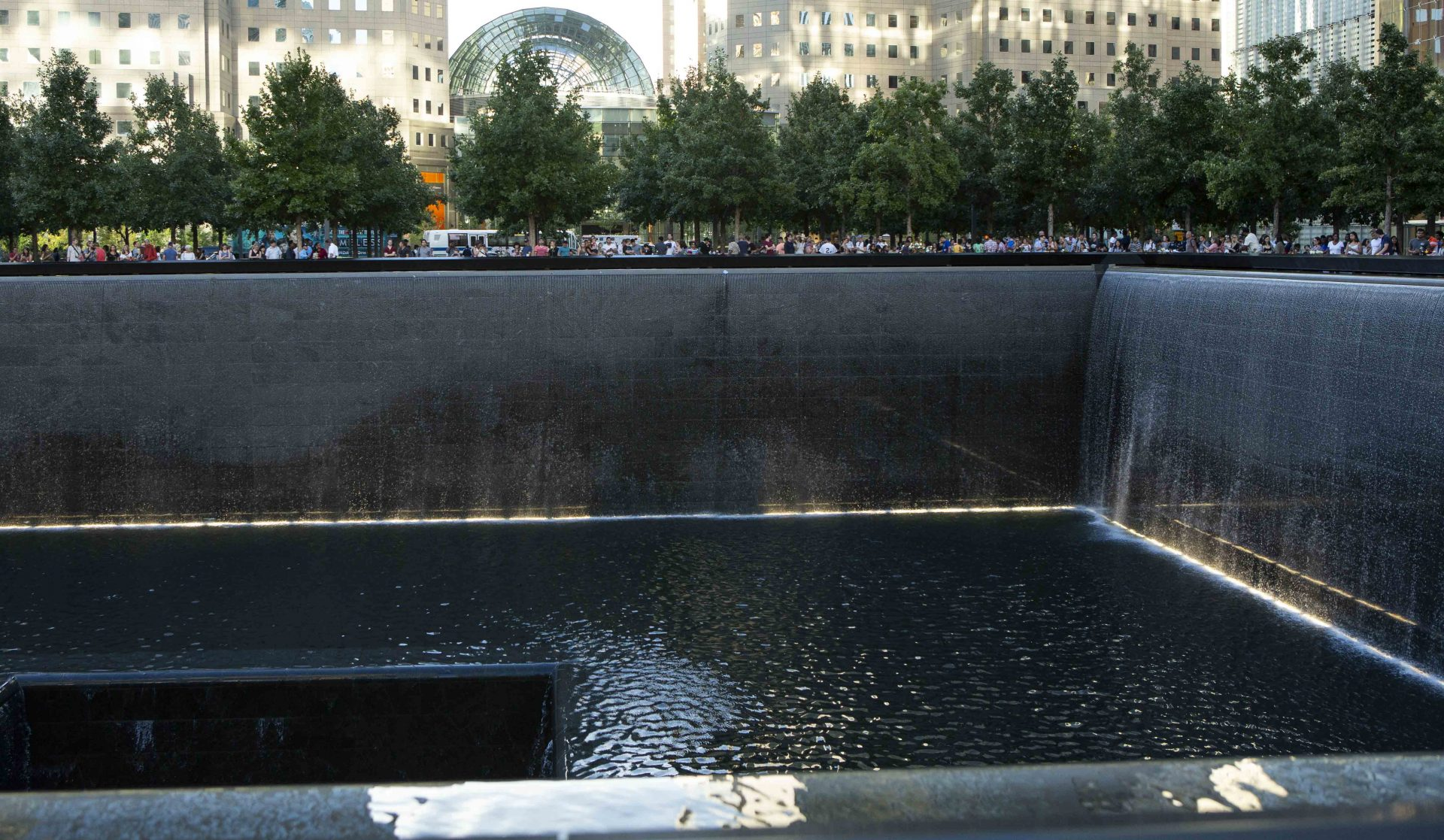 New York City, 9/11 Memorial light. (Image Credit: Hermann Rohr/ Vision Times)