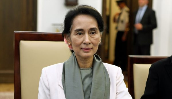 The verdict has not evoked any condemnation from Aung San Suu Syi, winner of the Nobel Peace Prize and the current state counselor of the country. (Image: wikimedia / CC0 1.0)