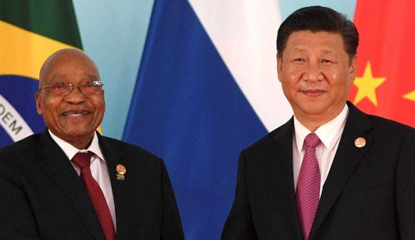 President of South African Republic Jacob Zuma and China's Xi Jinping. (Image: kremlin.ru / CC0 1.0)