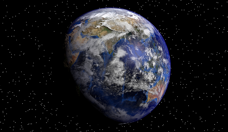 Ever since the Earth was formed about 4.6 billion years ago, it has been rotating non-stop on its axis. (Image: pixabay / CC0 1.0)
