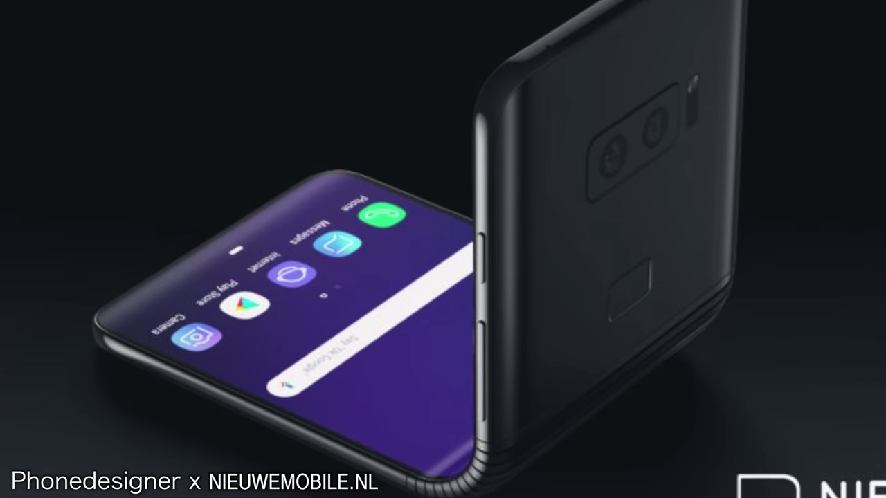 All major phone brands including the likes of Apple, LG, Huawei, Microsoft, etc. are all in various stages of developing their own foldable mobiles. (Image: Screen Shot/ Youtube)