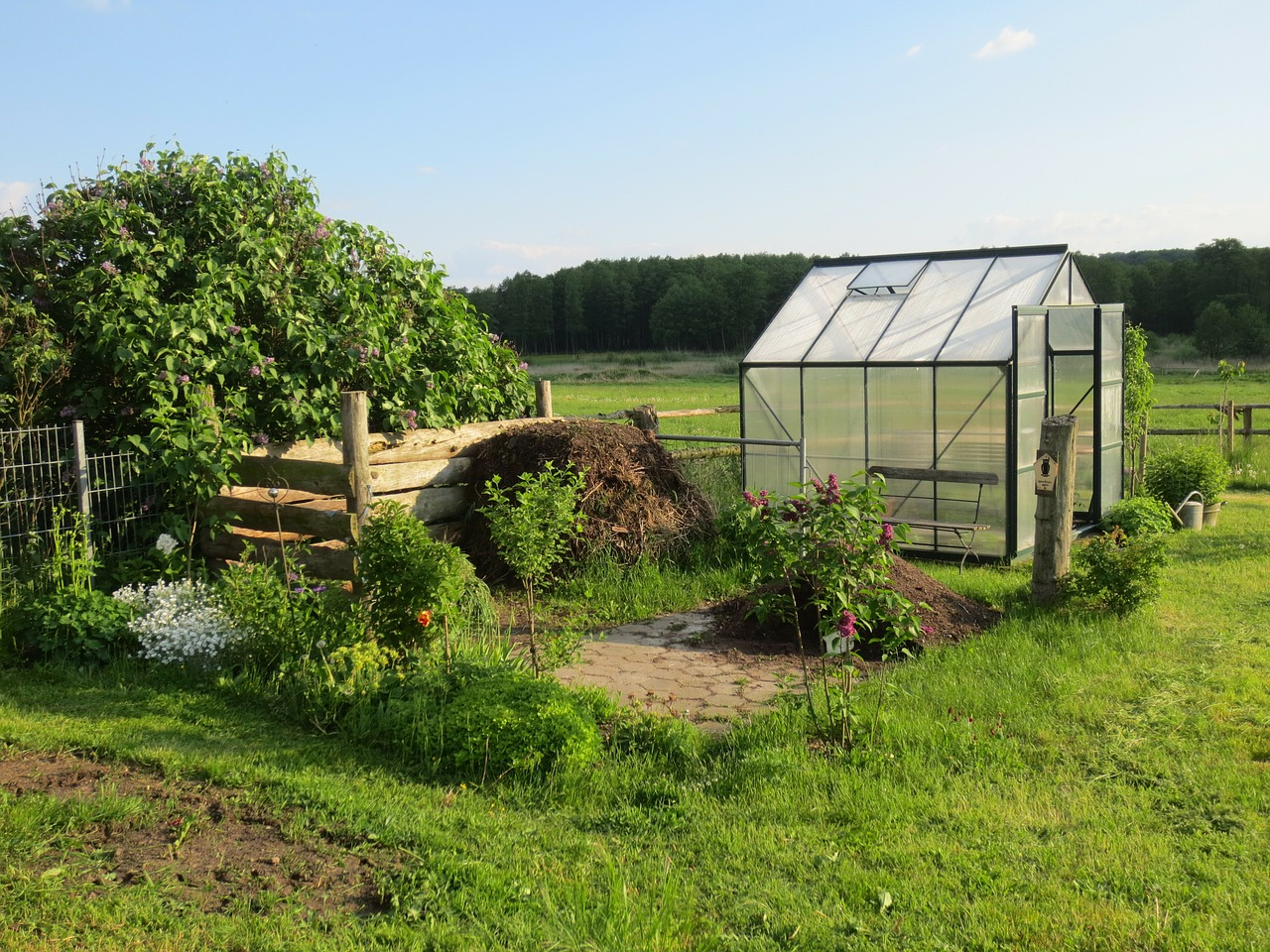 Greenhouse kits are the ideal solution for beginners wanting to build one of these structures. (Image: pixabay / CC0 1.0)