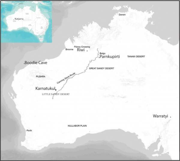 Location of Karnatukul in the Western Desert, showing the location of sites named in text. (Image: via PLOS )