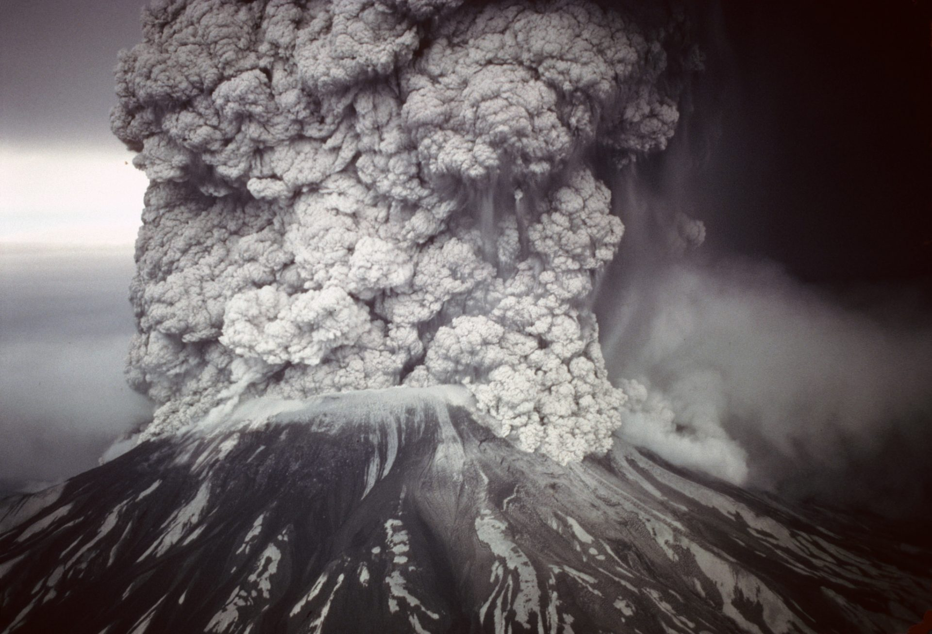 The 1980 eruption of Mount St. Helens lasted nine hours and kileld 57. (U.S. Forest Service- Pacific Northwest Region)