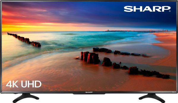 LED/LCD TVs do emit radiation. However, the amount of radiation is far lower than CRT models that it is really not much of a concern. (Image: Sharp)