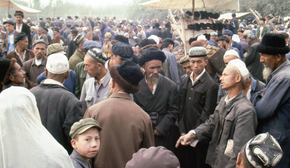 Chinese Communist Party (CCP) has detained more than a million Uyghur and Kazakh Muslim minorities in its internment camps at Xinjiang. (Image: UC Berkeley via flickr CC BY 2.0 )