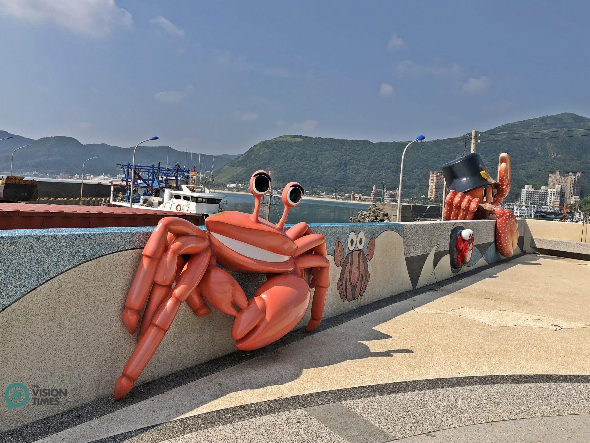 The Crab Theme Park at the Guihou Fishing Harbor. (Image: Julia Fu / Vision Times)
