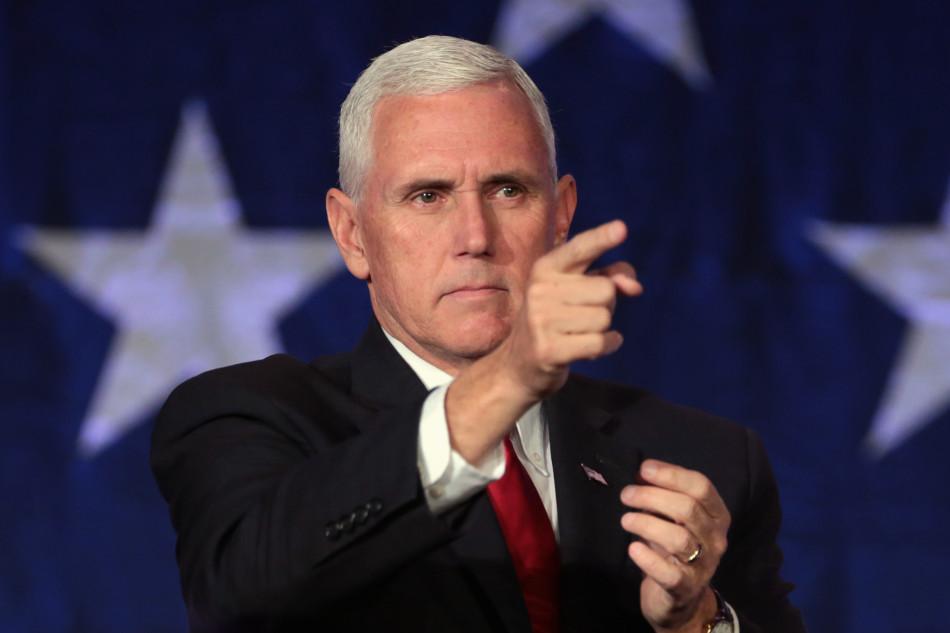 U.S. Vice President Mike Pence.