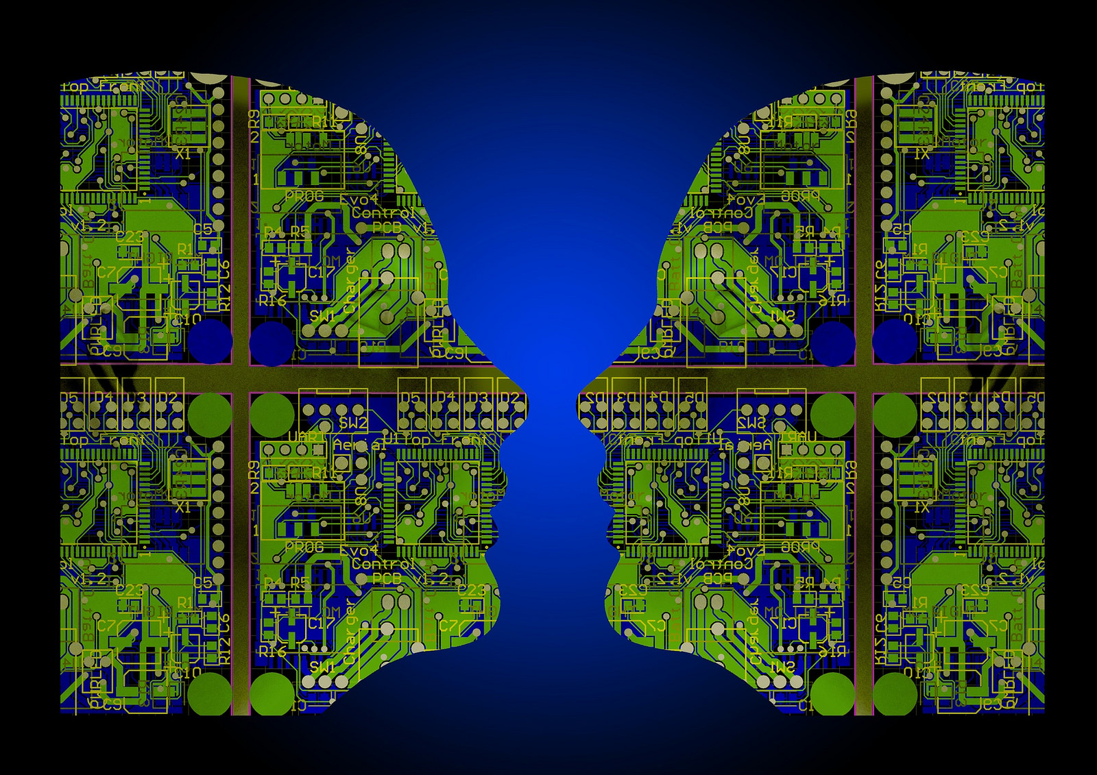 If the right decisions can be made and a moral and ethical implication can be ensured, then the benefits of smart machine networks for the technical, medical, and scientific advancement may also be of benefit to all of humanity. (Image: flickr / CC0 1.0)