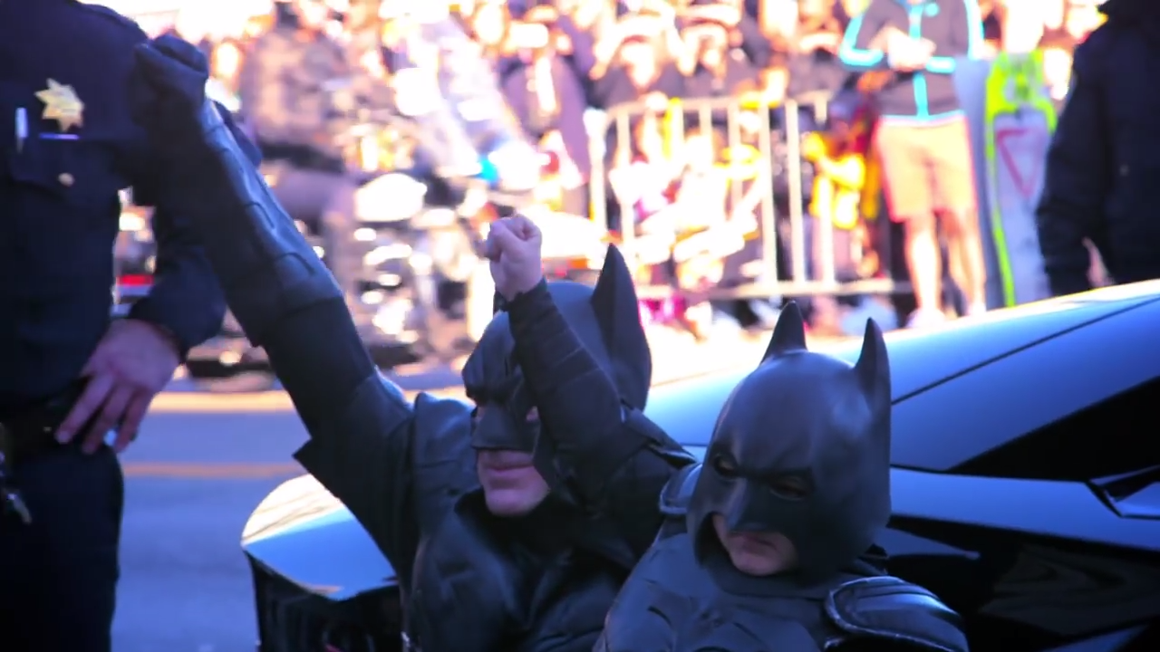 Batkid Begins - Official Trailer 2-28 screenshot