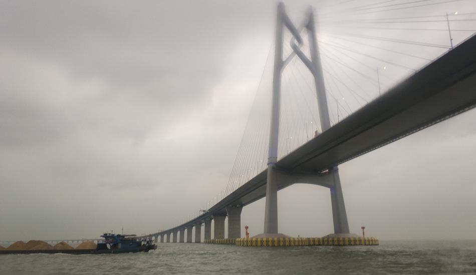 The Hong Kong-Zhuhai-Macau Bridge has been dubbed the 'Bridge of Death' by local media. (Image: Siyuwj via wikimedia CC BY-SA 4.0)