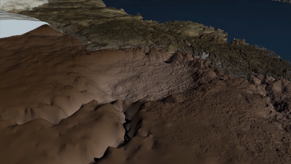 Massive Crater Discovered Under Greenland Ice 2-57 screenshot