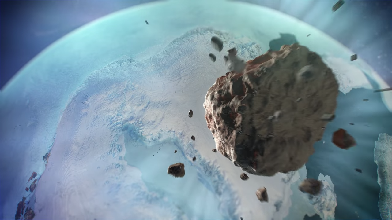 Massive Crater Discovered Under Greenland Ice 3-10 screenshot