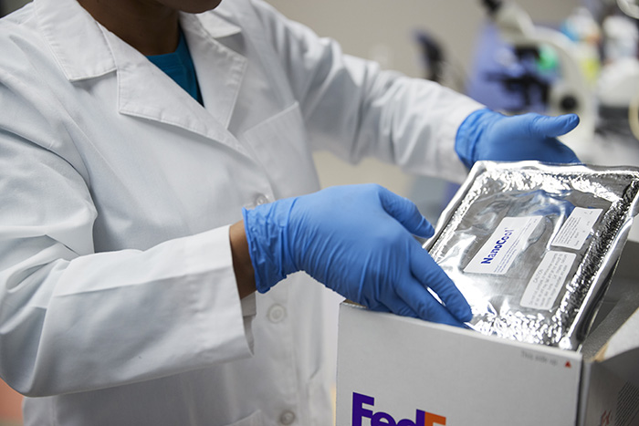 For facilities that don't require climate control all the time, a portable chiller might be a good option. (Image: FedEx)