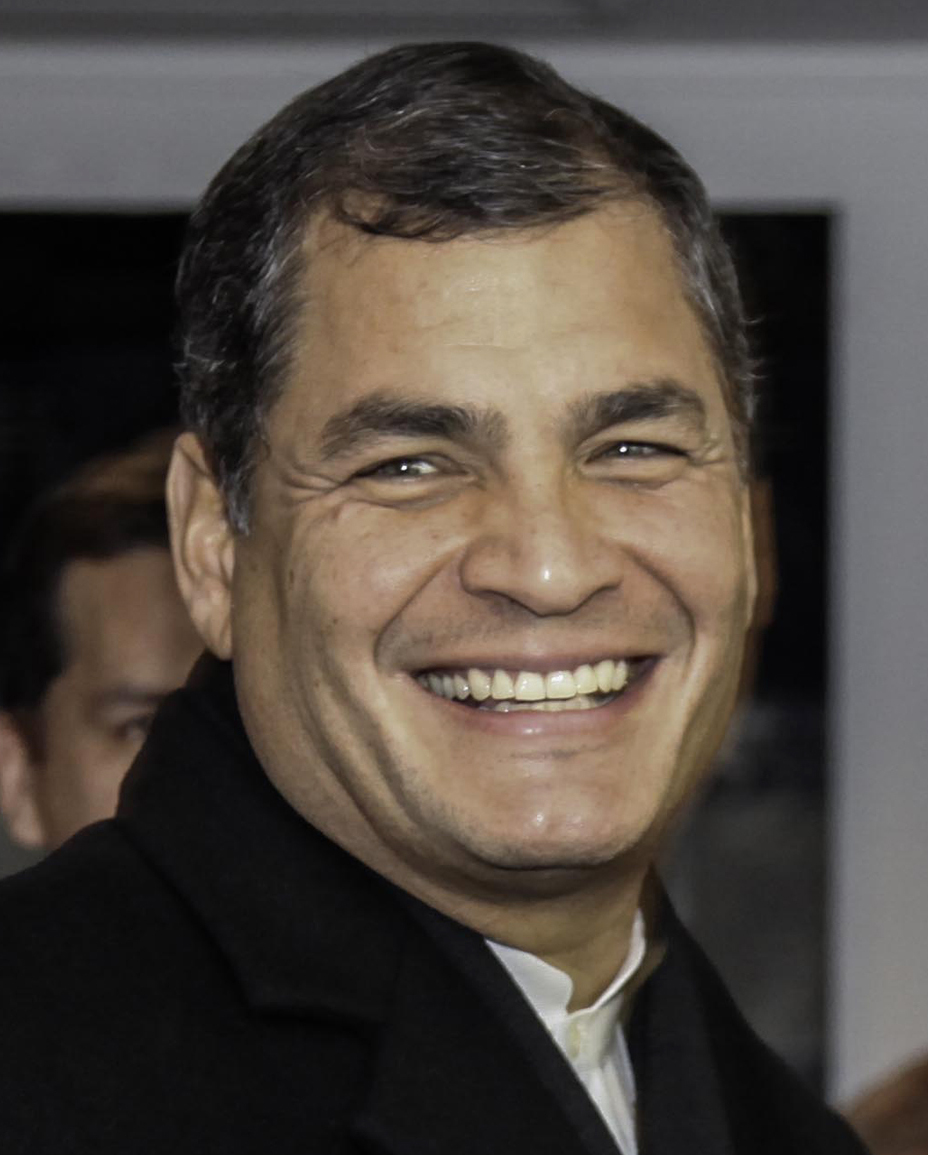 Former Ecuadorian President Rafael Correa has stated that the current President would have no qualms about giving up Assange if the United States applies enough pressure. (Image: Fernanda LeMarie via flickr CC BY-SA 2.0)