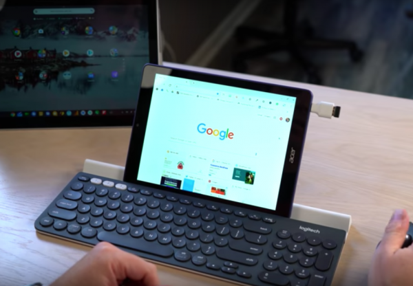 A strong focus is being placed on ensuring that users have a better Linux app experience. To this end, Google is planning to bring in multiple changes to the Chrome OS. (Image: YouTube/Screenshot)
