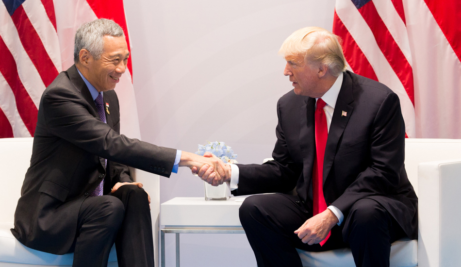 """""""If you are friends with two countries which are on different sides, sometimes it is possible to get along with both"""", said Lee Hsien Loong, the Prime Minister of Singapore, said in a statement at the recent ASEAN summit. (Image: wikimedia / CC0 1.0)"""