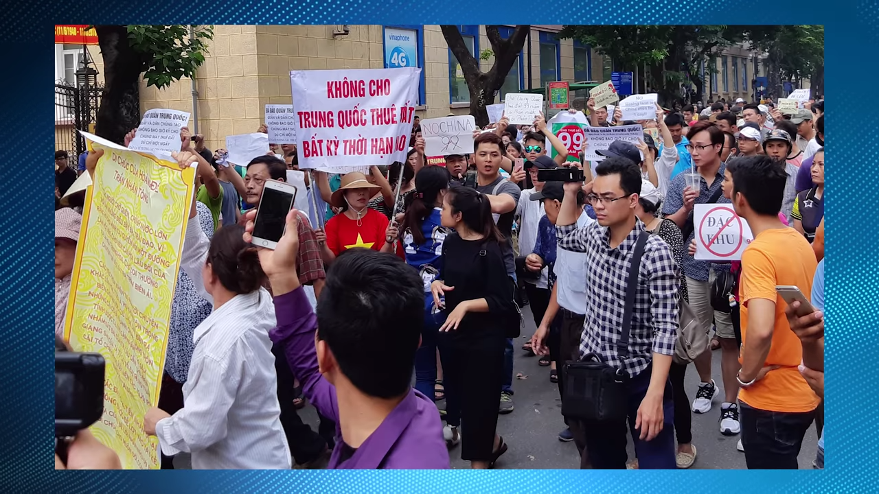 Violent ANTI-CHINA Protests