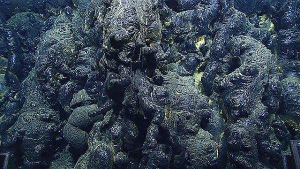 Fresh lava. (Image: via Oregon State University )