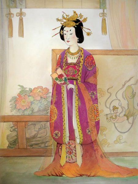 Empress Zhangsun, who lived in 7th century B.C., is an excellent example of a traditional Chinese woman. (Image: Taste of Life)