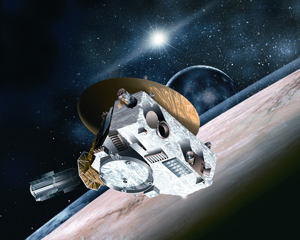 The New Horizons space probe