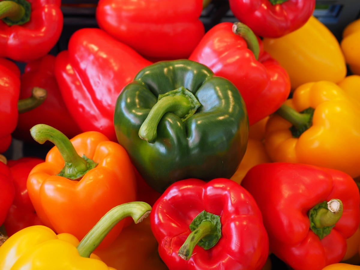 Sweet Peppers. (Image: PxHere / CC0 1.0)