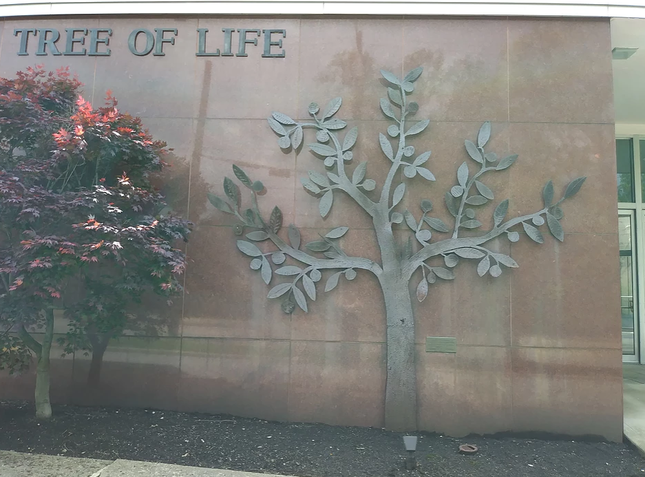 The Tree of Life Synagogue in Pittsburgh, PA. (Image: screenshot via the Tree of Life Synagogue website)