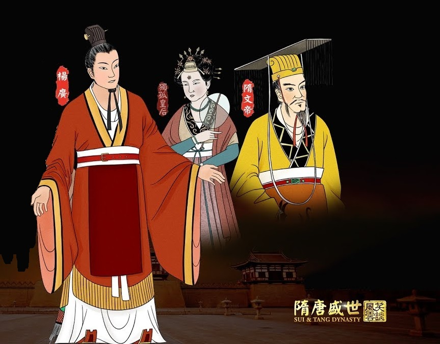 While Yang Jian and Empress Dugu were wary and disdainful of their first son, their attitude towards Yang Guang was the complete opposite. (Image: NTD Television)