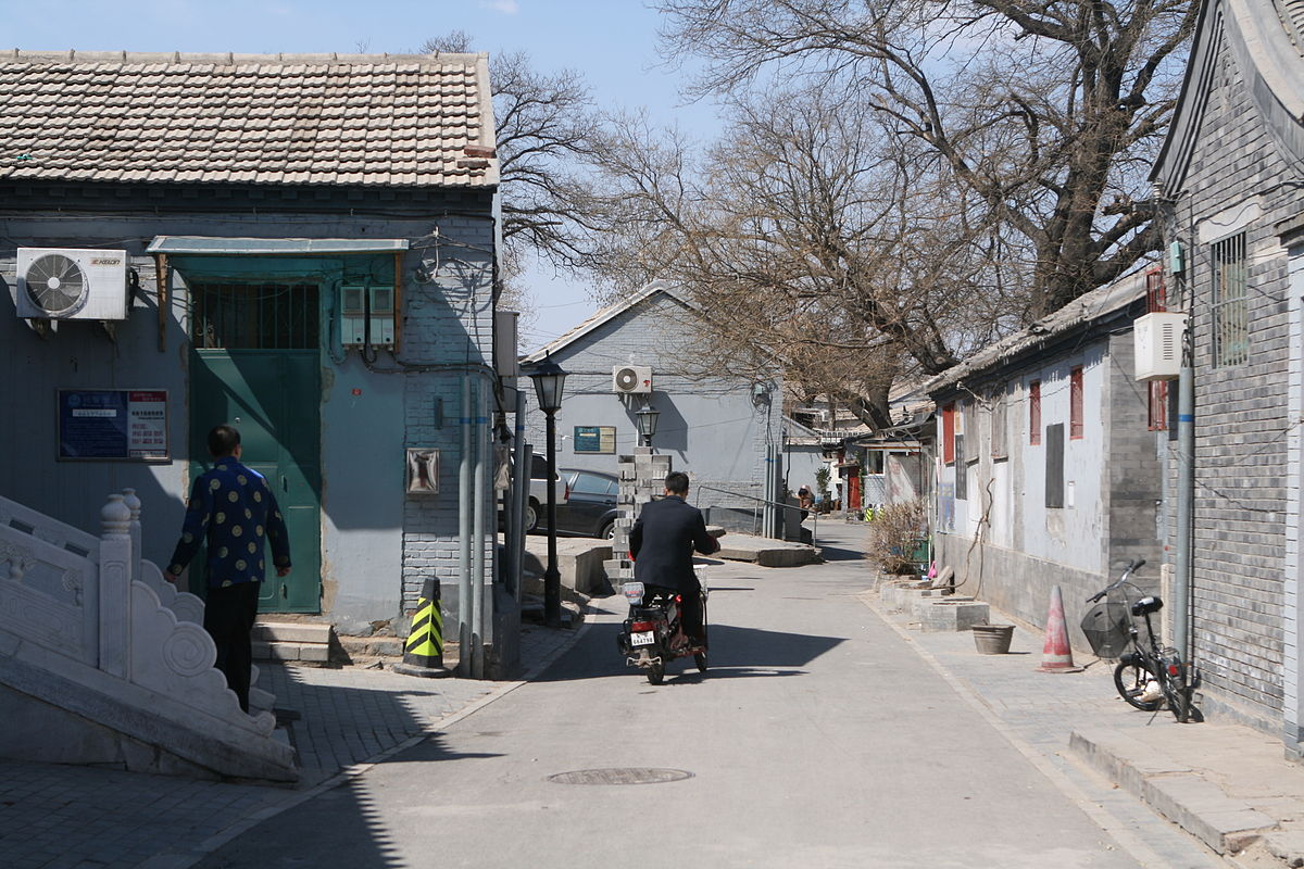A hutong in Beijing. (Image: Geoff McKim via flickr CC BY-SA 2.0)