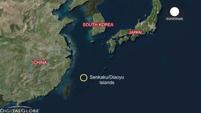 China warplanes sent to disputed East China Sea airspace 0-42 screenshot