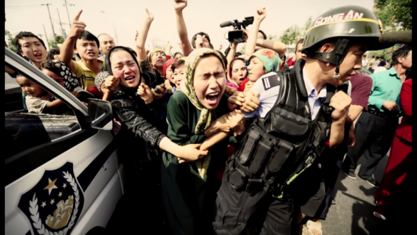 The Chinese Communist Party's (CCP's) horrific treatment of the Uyghur Muslim community in Xinjiang has been a hotly debated topic over the past months. (Image: Screenshot / YouTube)