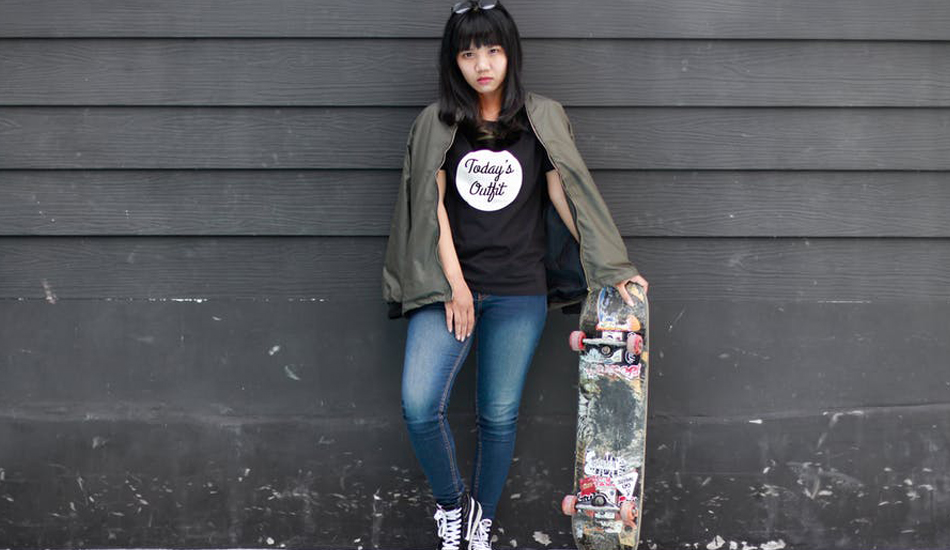 It's not just the boys who have taken up skateboarding wholeheartedly, a huge number of Chinese women see it as an exciting, fun way to prove their talent. (Image: pexels / CC0 1.0)