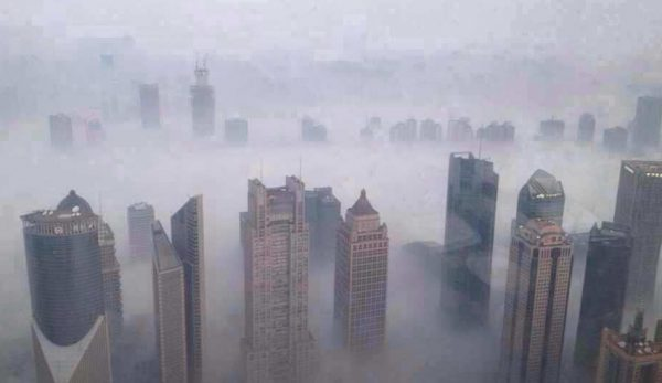 An elderly Chinese couple got lost in the city of Nanjing for almost nine hours after being confused by the dense smog. (Image: erhard.renz via flickr CC BY 2.0 )