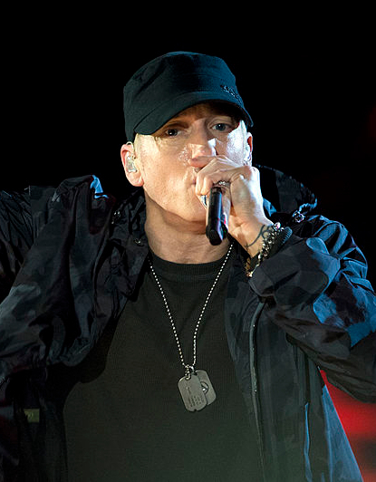 Marshall Bruce Mathers III, better known by his stage name Eminem, is an American rapper, record producer, songwriter, and actor who is well known in China. (Image: wikimedia / CC0 1.0)