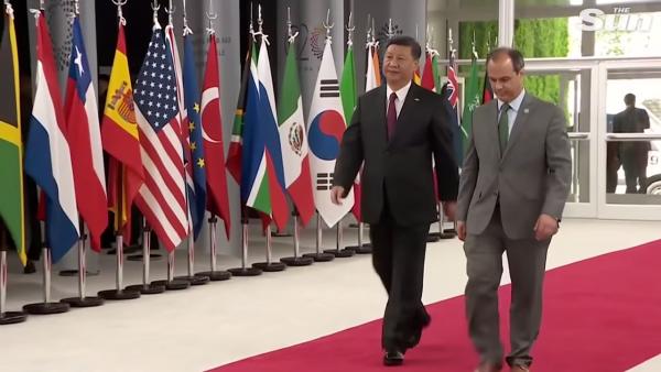 G20- May, Macron and Xi arrive at summit in Argentina 2-6 screenshot