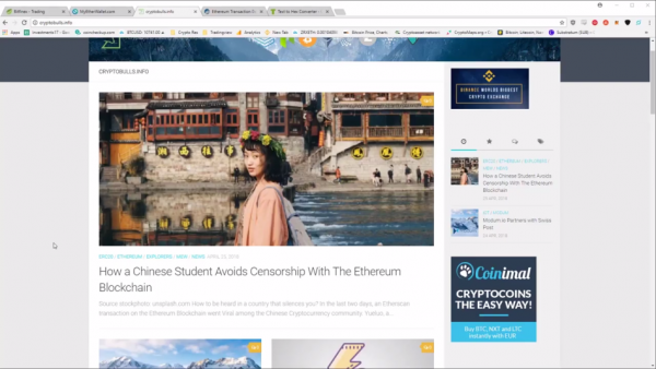 Thanks to blockchain technology, Chinese internet users have currently found a way to overcome Beijing's censorship. (Image: Screen Shot/ Youtube)