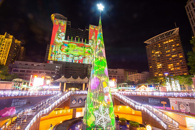 The Christmasland is selected by NZ Herald as one of the world's best Christmas markets. (Image: New Taipei City government)