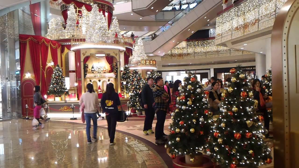 Shenzhen MIXC Shopping Mall - Beautiful Christmas Scenes 1-1 screenshot